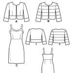 Выкройка Simplicity — Платье, Жакет - S1688 ()