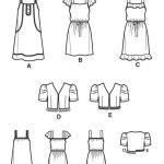 Выкройка Simplicity — Платье, Жакет - S1895