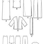 Выкройка Simplicity — Топ, Платье, Юбка, Брюки, Шарф - S4552