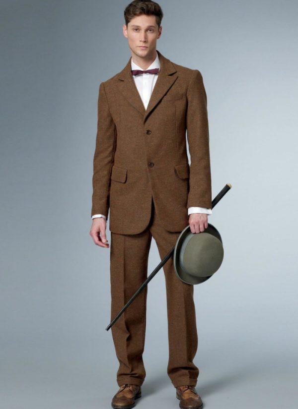 Выкройка Butterick №6503 — Исторический мужской костюм - 38-44