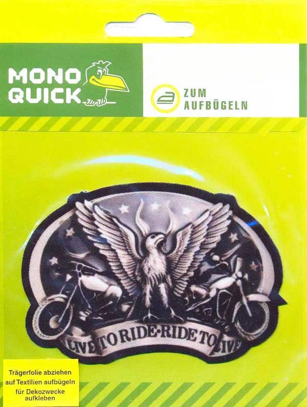 Наклейка байкерская, эмблема мотоциклистов