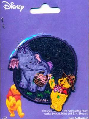 Термоаппликация Mono Quick (12508) – Слоненок и Винни Пух, Disney