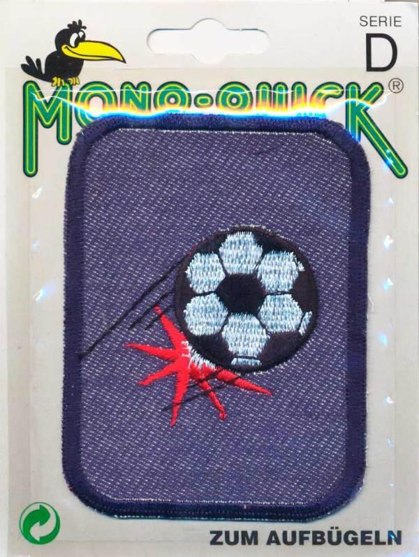 Термоаппликация Mono Quick (63793-5) – Заплатка детская джинсовая с вышивкой Мяч
