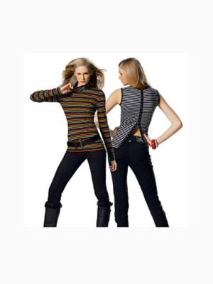 Выкройка Burda 7742 — Водолазка, пуловер