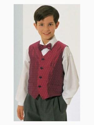 Выкройка Burda №2622 — Жилет, галстук, пояс для мальчика