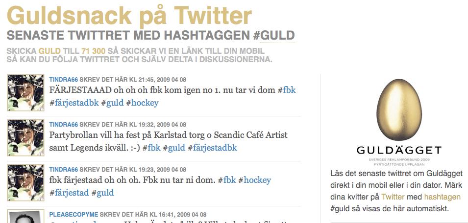 """""""Hash tag""""-förvirring på Twitter"""