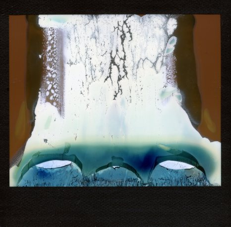 Abstract. Polaroid Image 2 met Impossible Color film.