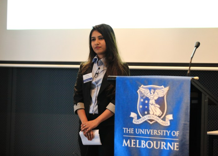 prachi tyagi university of melbourne