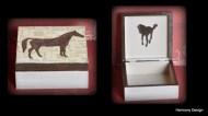 pudełko z koniem