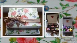 szkatułki z różami