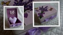 lawendowe pudełko
