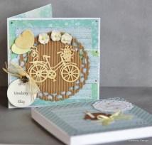 karteczka urodzinowa w pudełku