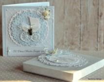 kartka na chrzciny w pudełku