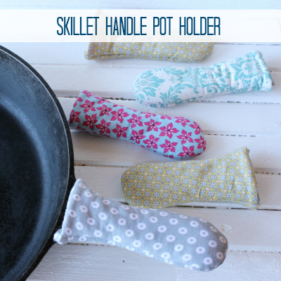 skillet handle potholder