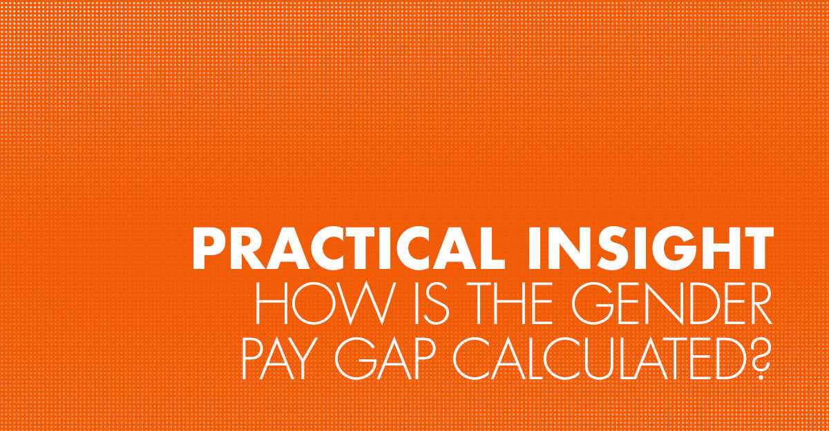 How is the gender pay gap calculated?