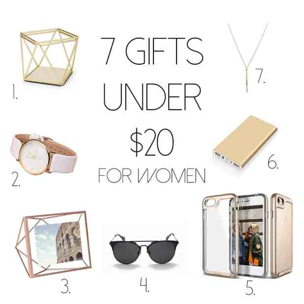 7 gifts under $20 for women
