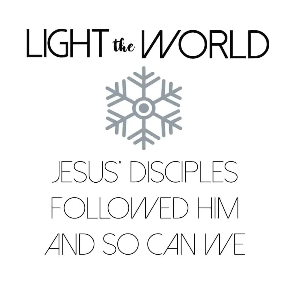 Light the World Free Printable