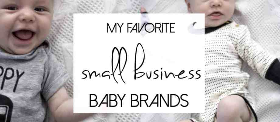 The Best Small Businesses for Baby Products