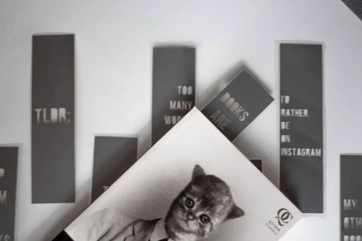 Simple DIY Snarky Bookmarks Tutorial with Cricut Design Space