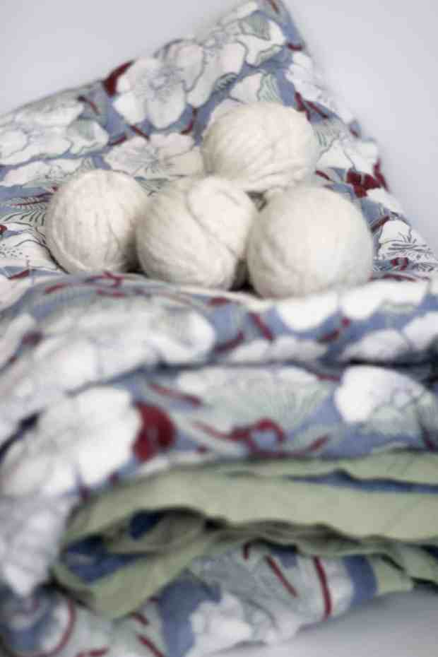 These dryer balls will save you money and you'll never have to use a dryer sheet again!