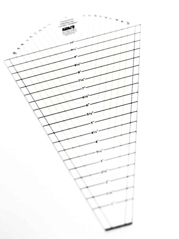 Dresden Plate Template