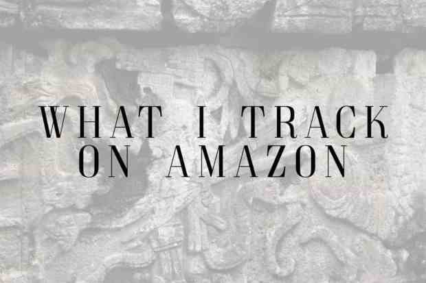 I track quite a few things on Amazon and have saved so much money.