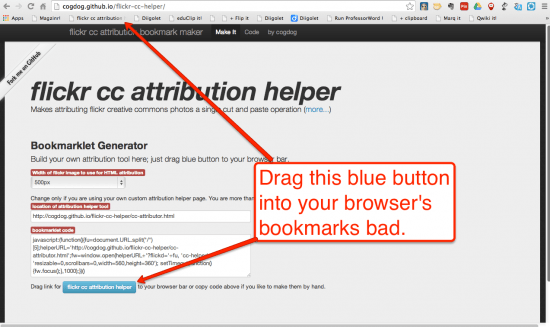 attribution helper