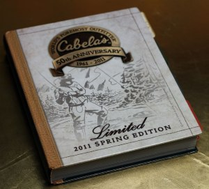 Cabelas Limited Edition Spring 2011 Catalog