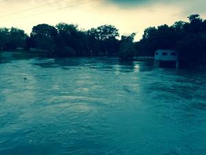 San Marcos River, Luling, TX, May 24, 2015