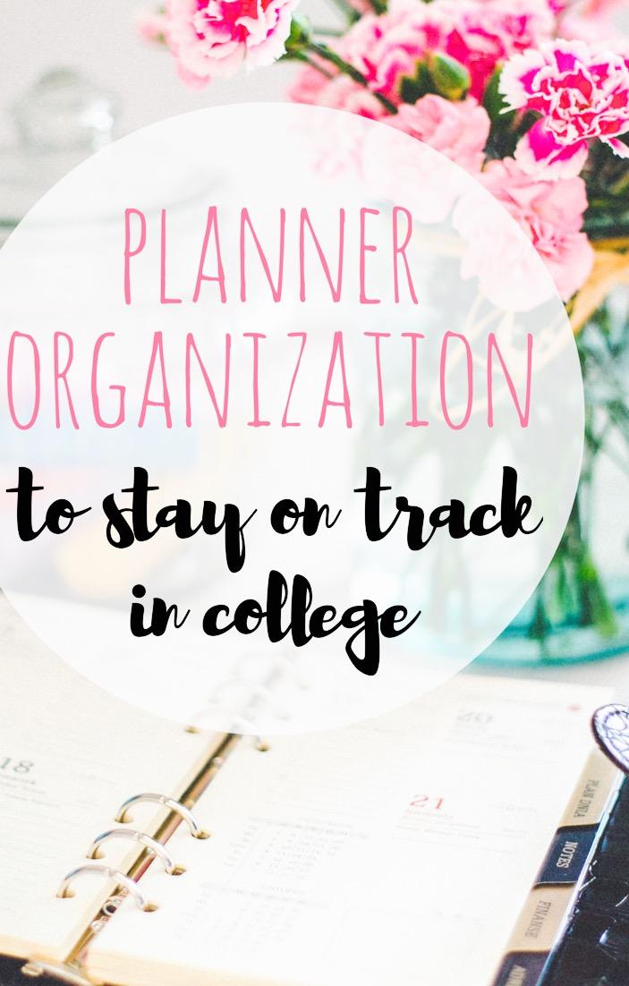 college planner organize
