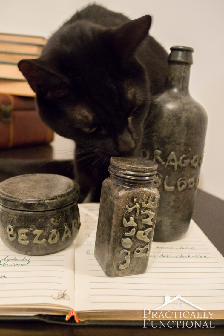 Diy Halloween Apothecary Jars