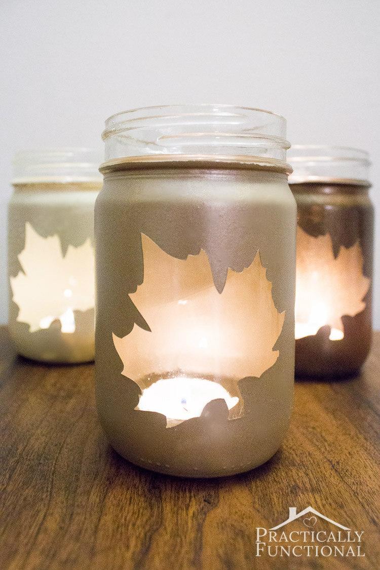 How Make Light Fixture Out Mason Jars