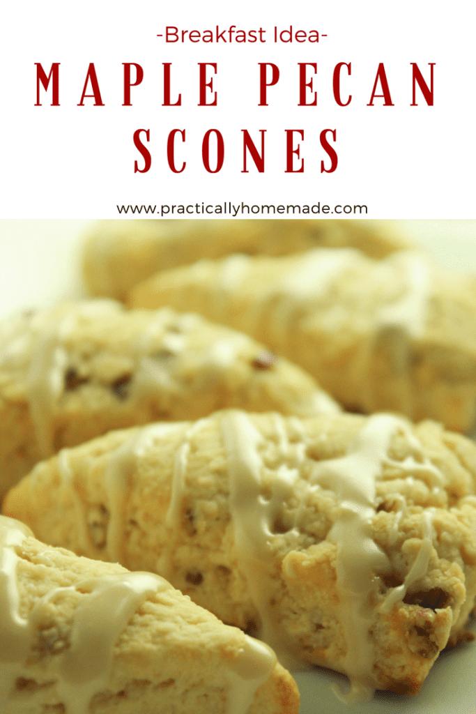 maple pecan scones recipe   maple pecan scones breakfast   scones   scones recipe   scones recipe easy   scones easy