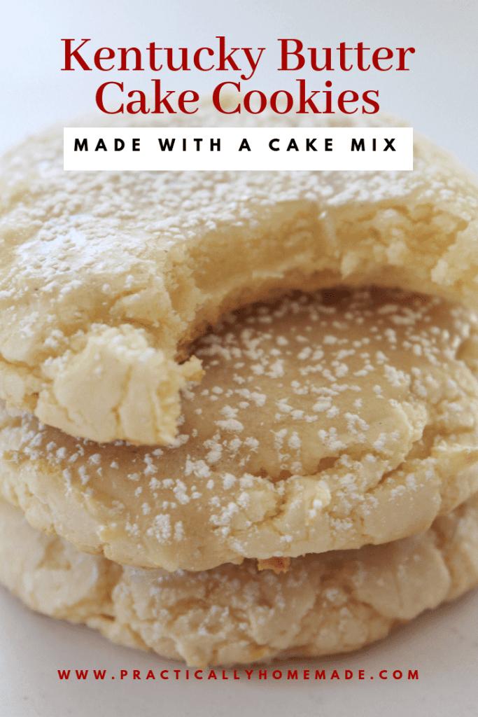 kentucky butter cake cookie | ketucky butter cake | butter cake recipe | cake mix recipe | cake mix cookies