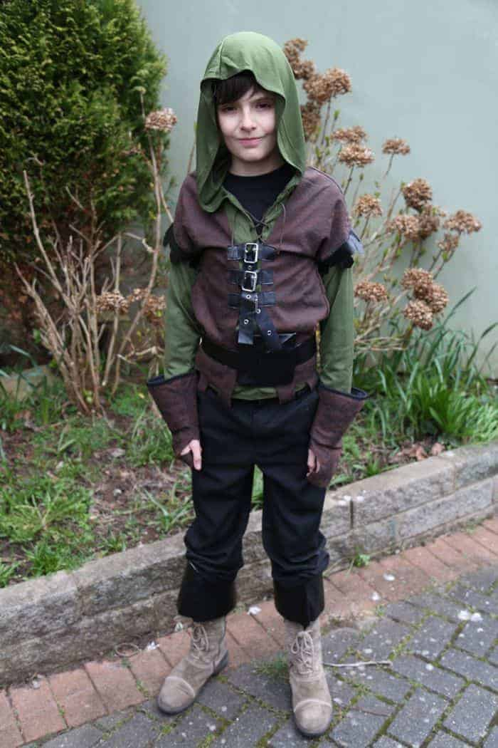 I may not end up buying all our costumes but with everything else I have on my plate this off the shelf Robin Hood was certainly a very effective and low ...  sc 1 st  Practically Perfect Mums & Robin Hood Costume for World Book Day | Practically Perfect Mums