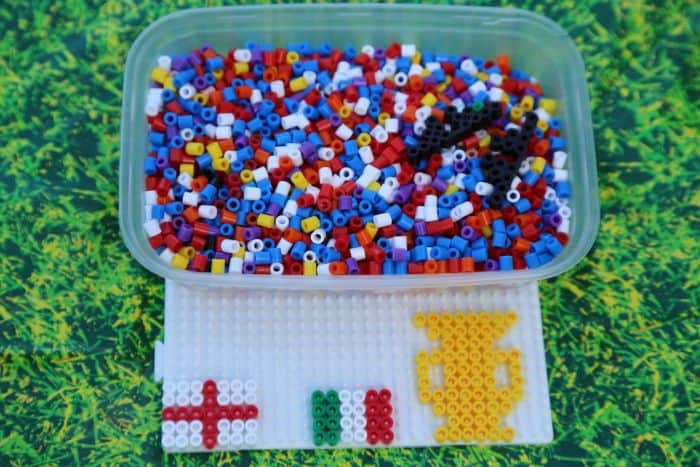 Football Party Ideas - Hama Beads