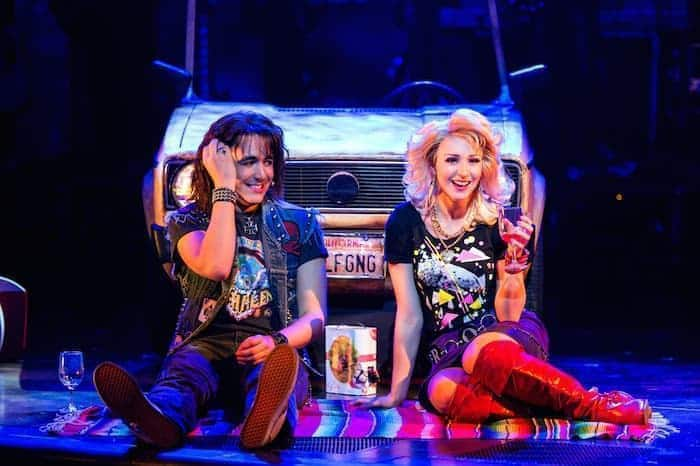Rock of Ages, the musical, at The Bristol Hippodrome