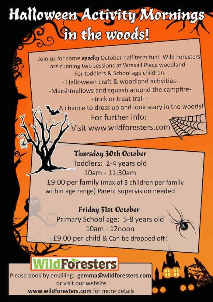 Wild Foresters Halloween #WildForesters #Halloween