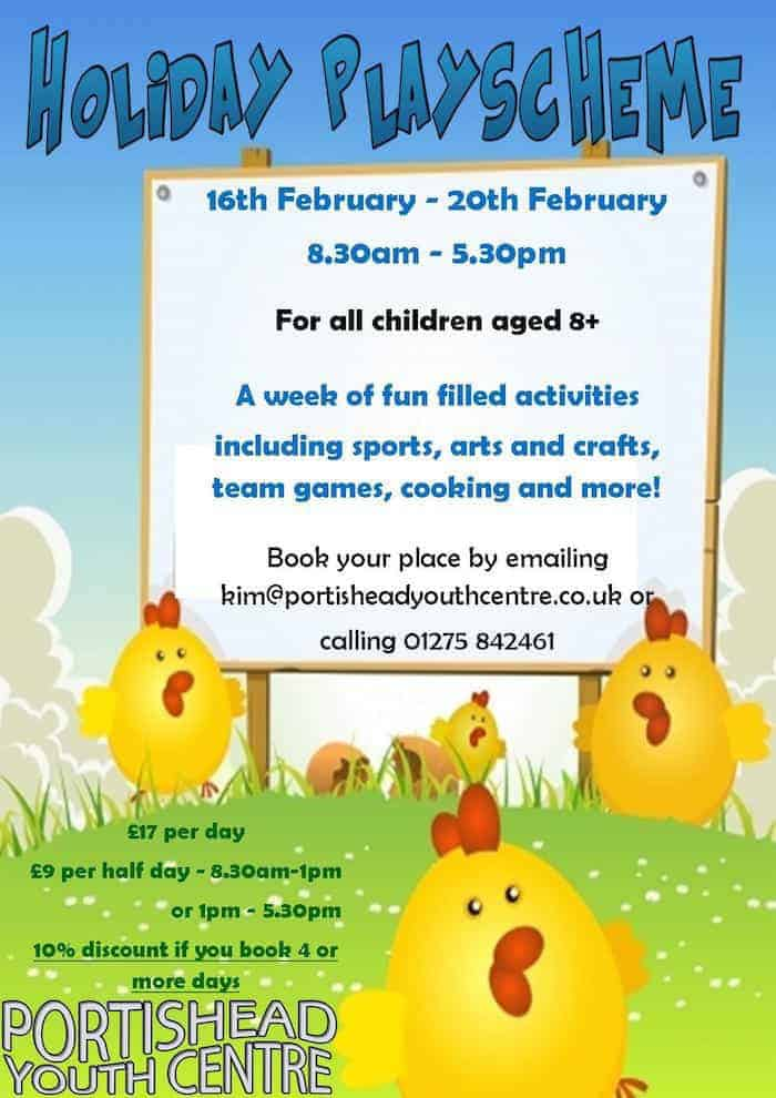 Youth Centre Holiday Scheme
