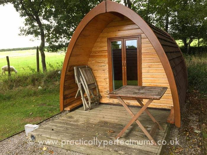 Woodovis Park Camping Pod