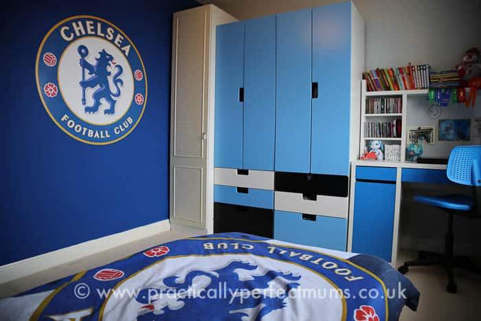 Football Bedroom Makeover Chelsea Football Club Decal