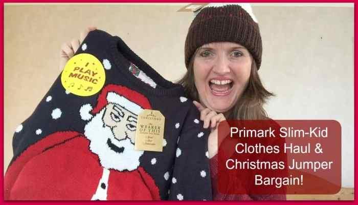 Primark Christmas Text