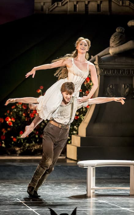 MATTHEW BOURNE'S SLEEPING BEAUTY REVIEW Aurora and Leo