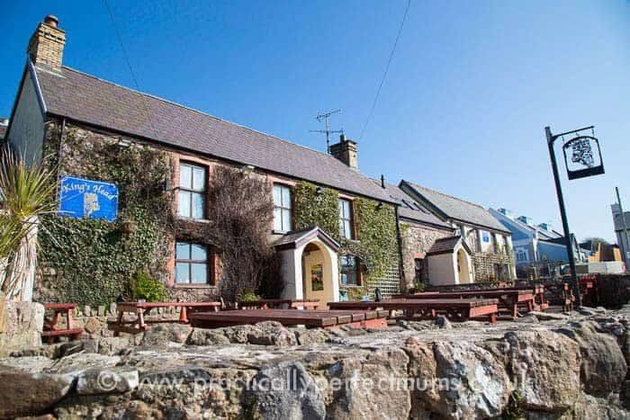 King's Head Inn Exterior, Gower Peninsula, Llangenith, Wales