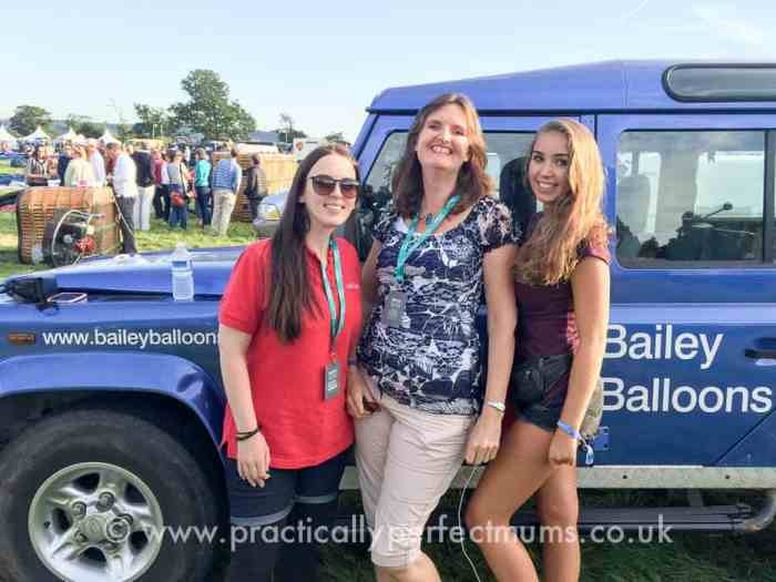 Launch preparations with Bailey Ballons and Red Letter Days at Bristol Balloon Fiesta 2016