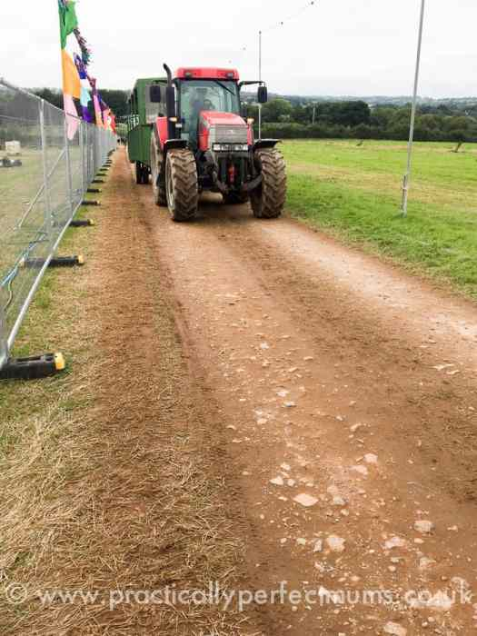 Travelling by Tractor - Valley Fest Review 2016