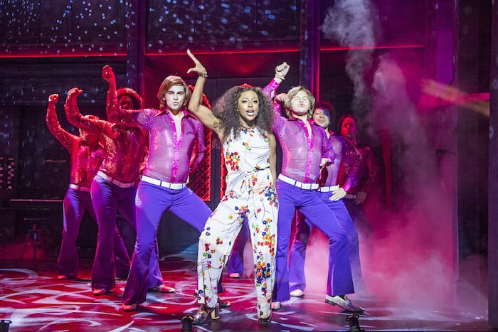 Sister Act Review with Alexandra Burke at Bristol Hippodrome. A scene from Sister Act @ Leicester Curve. Directed and Choreographed by Craig Revel Horwood. (Opening 30-07-16) ©Tristram Kenton 07/16 (3 Raveley Street, LONDON NW5 2HX TEL 0207 267 5550 Mob 07973 617 355)email: tristram@tristramkenton.com