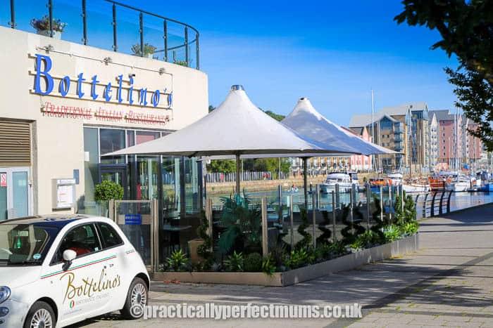Bottelino's Restaurant on Portishead Marina