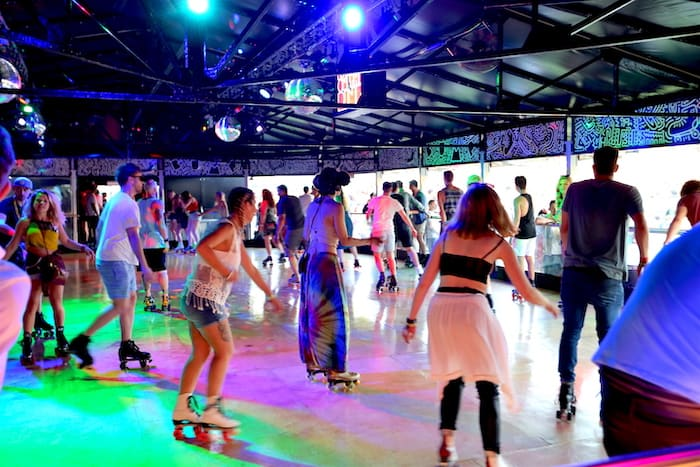 Bump Roller Disco at Millenium Square - Things to do this Christmas in Bristol