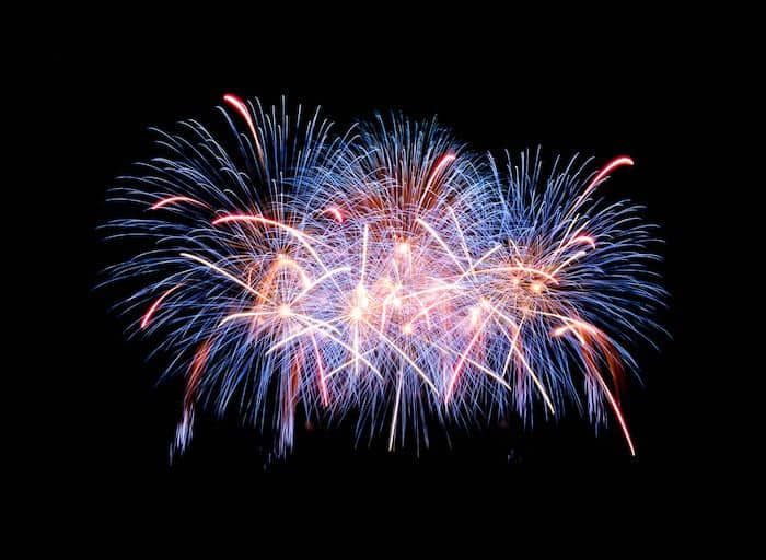 Firework displays in Portishead and Bristol